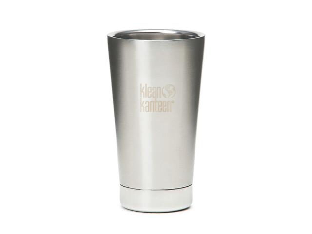 Klean Kanteen Vacuum Insulated Pint Cup beker 473ml grijs